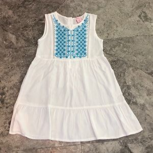 Design History White Dress/Cover Up Size 6x